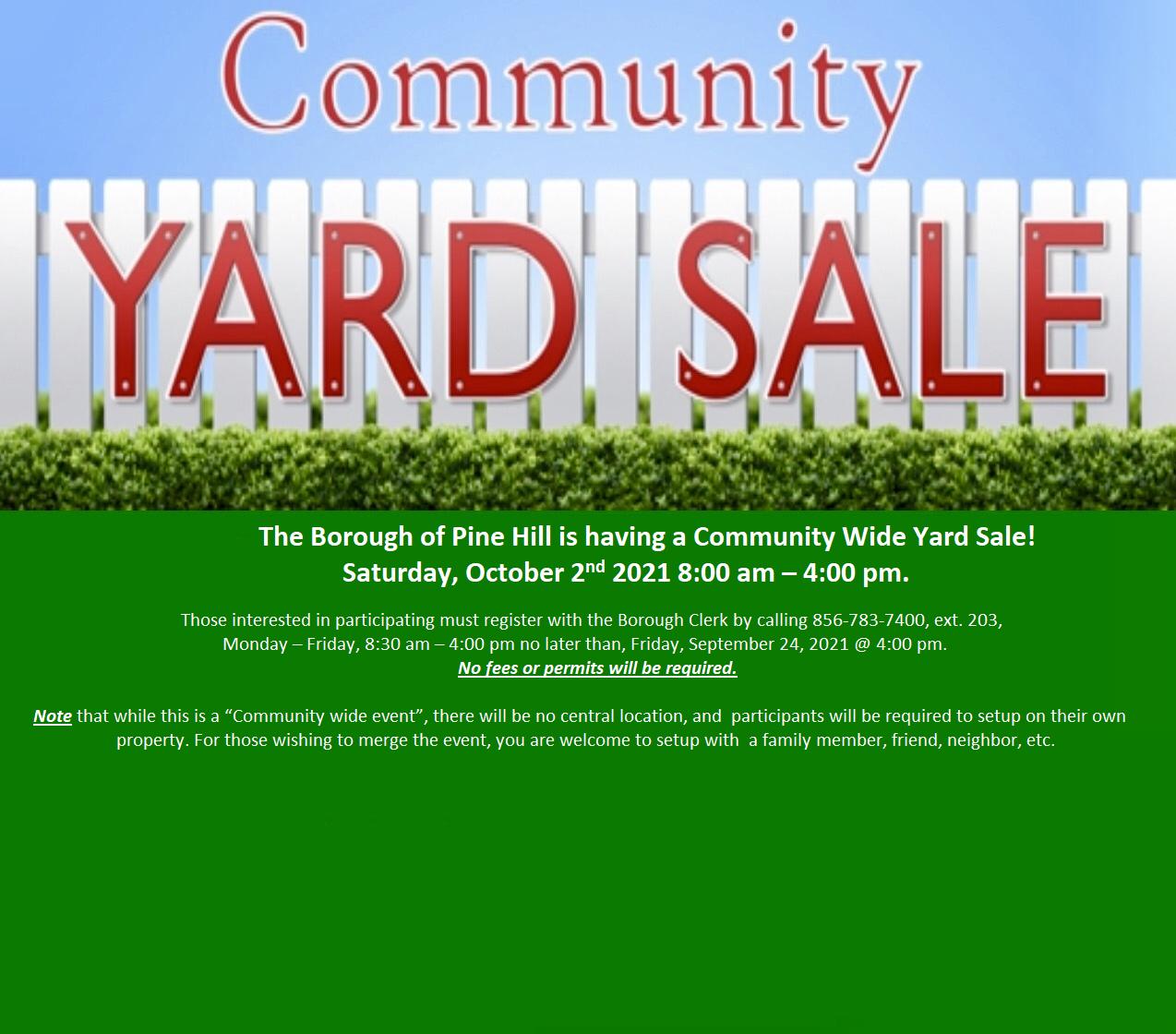 thumbnail of Community Wide Yard Sale